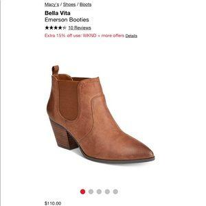 Bella Vita Pointed Booties